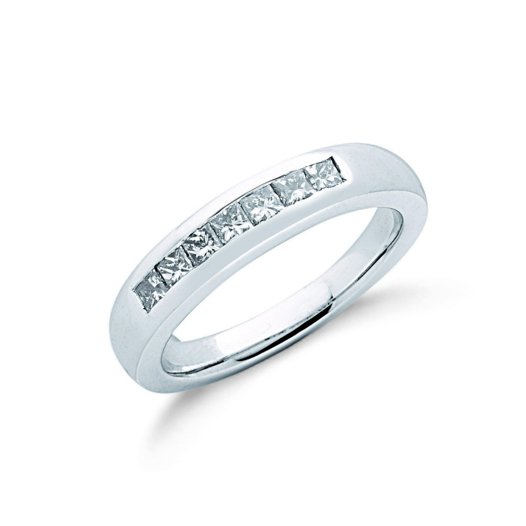 9ct white gold eternity ring mitchells jewellers
