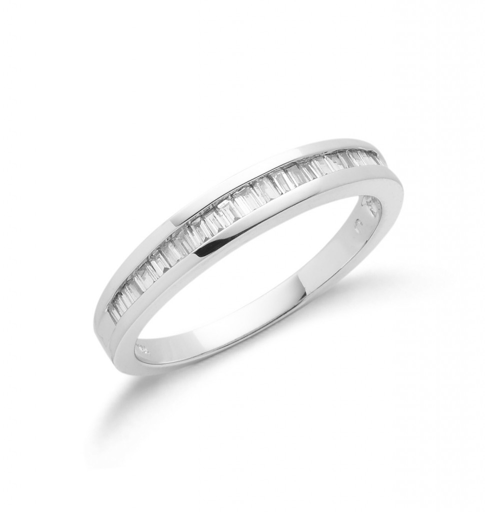 18ct white gold eternity ring mitchells jewellers